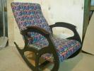 Кресло качалка Релакс, микровелюр Tissage 01