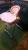 Стульчик для кормления со столиком Chico Polli