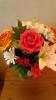 Цветочные композиции из фоамирана