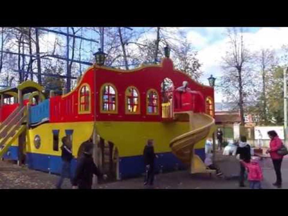 Детская площадка в Кингисеппе