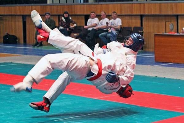 Областные соревнования по рукопашному бою
