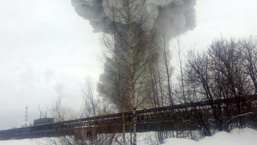Взрыв в Кингисеппе